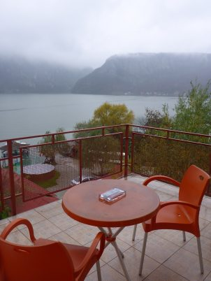 Room with a view, Hotel Decebal