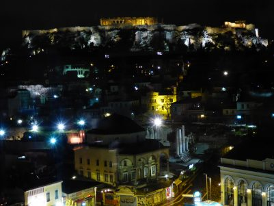 The Acropolis by night