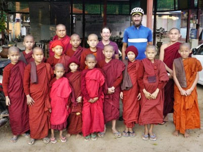 Our hosts in Taungoo, Myanmar