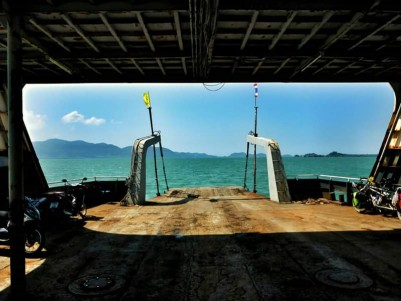 The ferry to Koh Chang